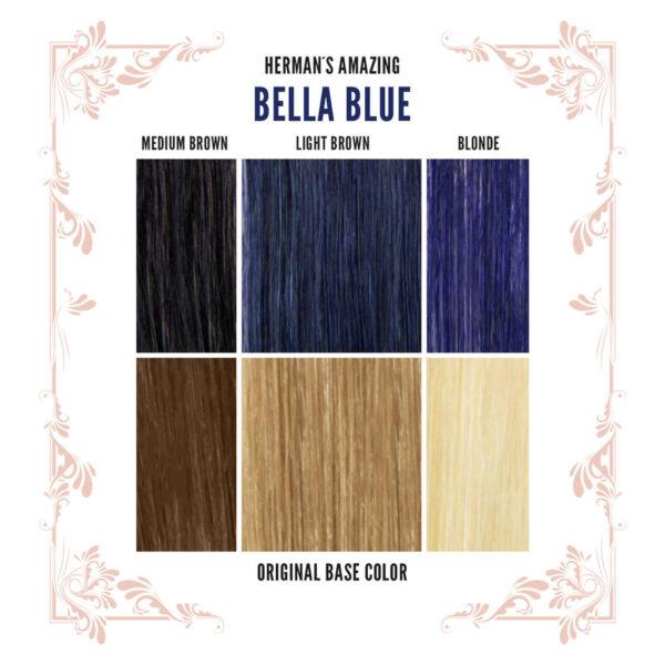 Bella Blue Colour Chart