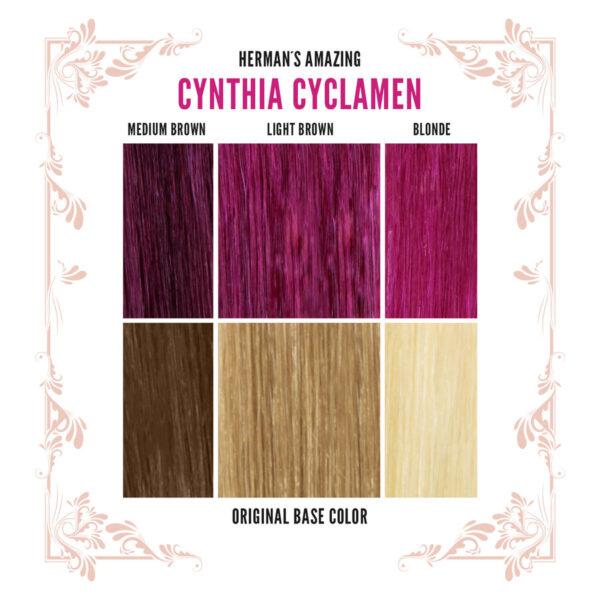 Cynthia Cyclamen Colour Chart