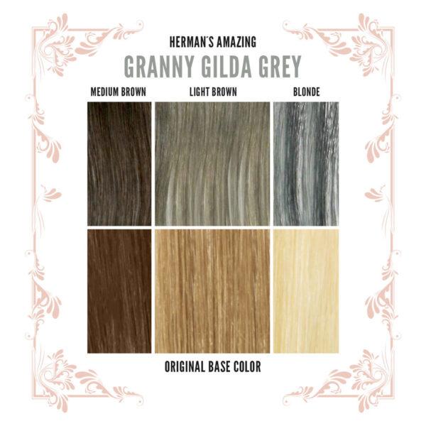 Gilda Grey Colour Chart