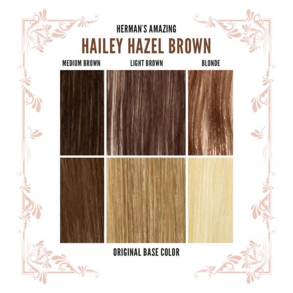 Hailey Brown Colour Chart