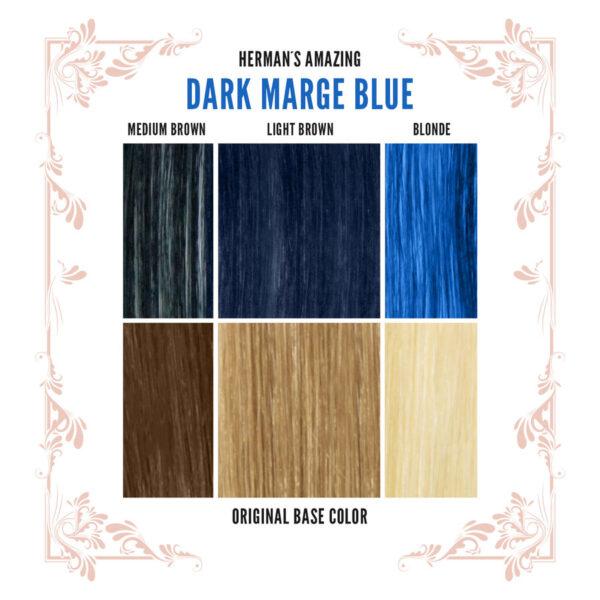 Marge Blue Colour Chart