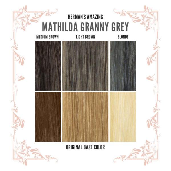Mathilda Grey Colour Chart
