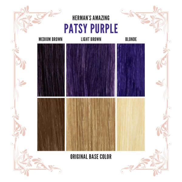 Patsy Purple Colour Chart