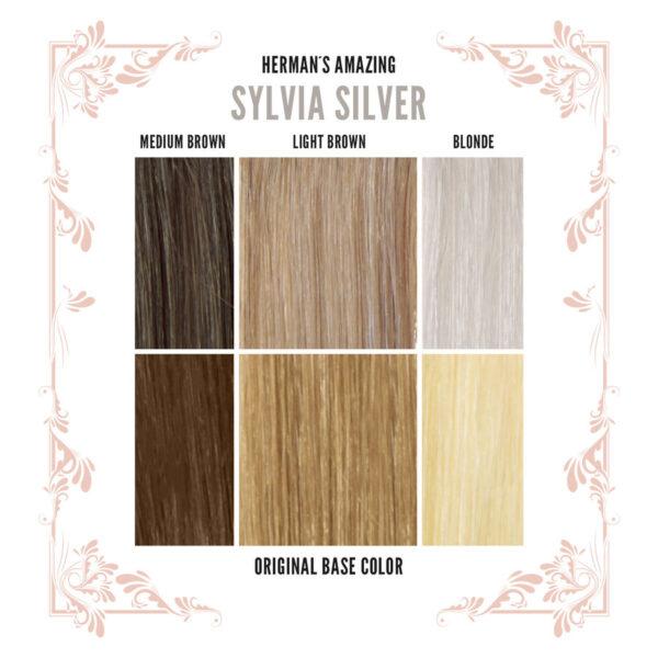 Sylvia Silver Colour Chart