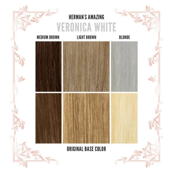 Veronica Colour Chart