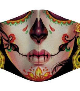 Face Mask - Sugar Skull/Lady