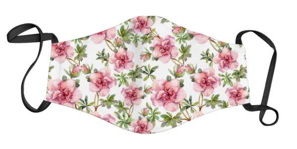 Face Mask - Camellia Flower