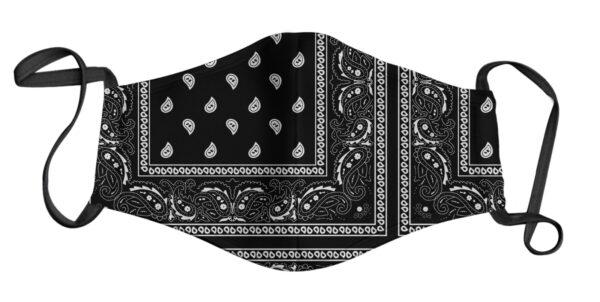 Face Mask - Bandana Black