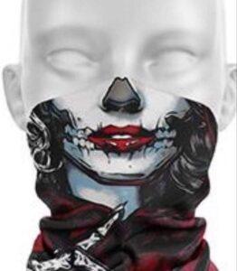 Skull Face Protection Tube Scarves