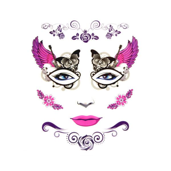 Pink Wings Tattoo