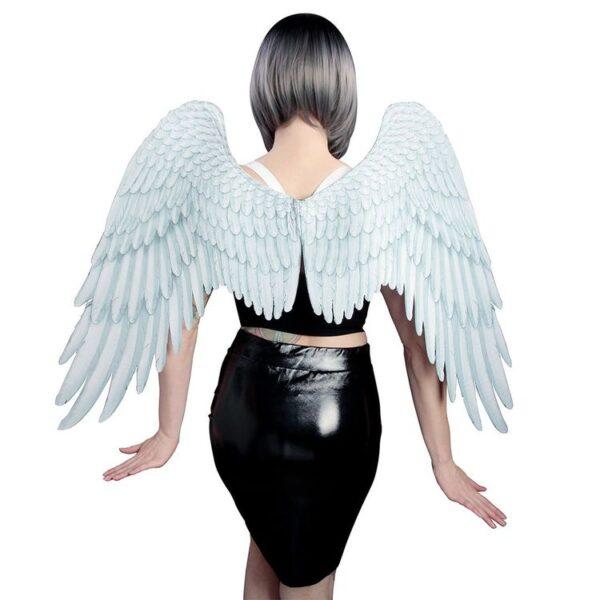 Angel Wings-White Dress