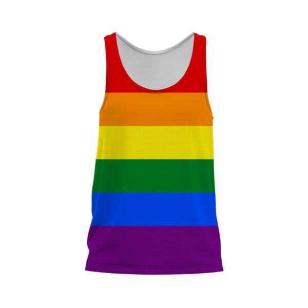 Pride Rainbow Singlet