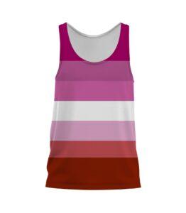 Lesbian Pride Singlet