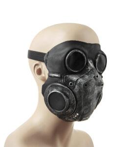 Dark Rubber Mask