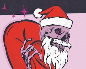 Bad Skull Santa Christmas Gift Voucher