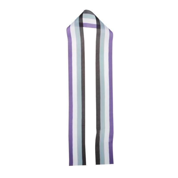 Asexual Flag Lippu Ribbon