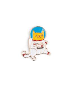 Astronaut Cat Pin