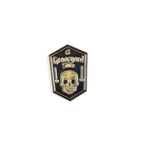 Graveyard Shift Pin