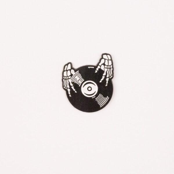 Skeleton Spinning that Record