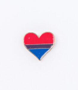 Bisexual Love Heart