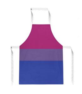 Pride Bisexual Flag Apron