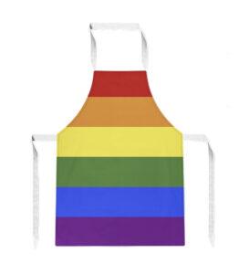 Pride Rainbow LGBTQ Flag Apron