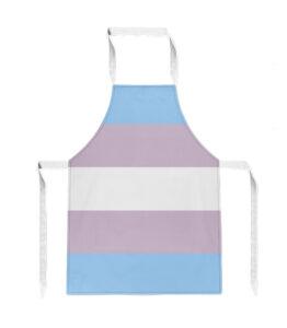 Pride Transgender Flag Apron