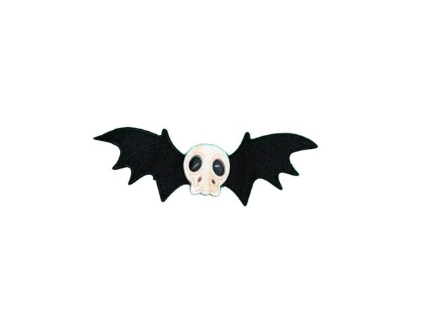 Bat Wings with Skull Clip On