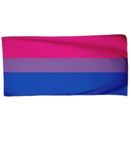 Pride Bisexual Flag Beach Towel
