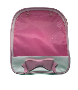 ITA Bag - Pink Bow with Large Window