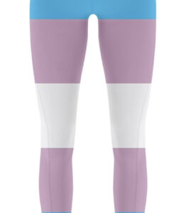 Pride Transgender Flag Tights