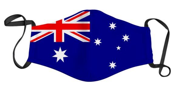 Aussie Flag Face Mask