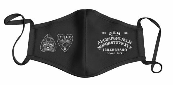 Ouija Board Style Print Face Mask