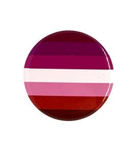 Pride Badge Lesbian Flag