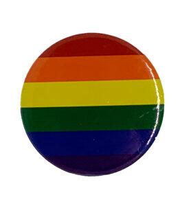 Pride Badge LGBTQ Rainbow Flag