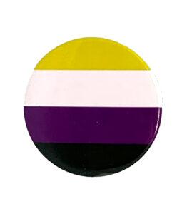 Pride Badge Non Binary Flag