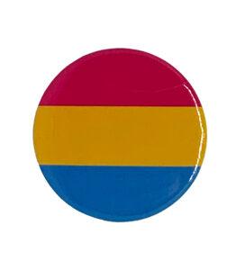 Pride Badge Pansexual Flag