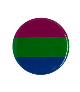 Pride Badge Gender Fluid Flag