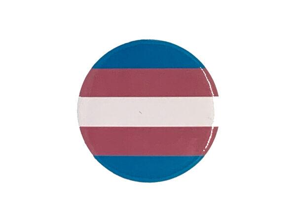Pride Badge Transgender Flag
