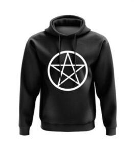 Pentagram Print Hoodie