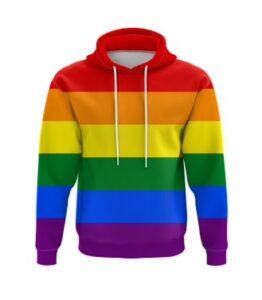 Rainbow LGBTQ Hoodie