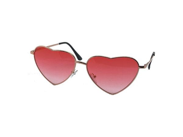 Heartbreaker Pink Lens Sunglasses