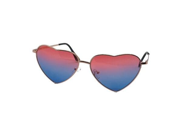 Heartbreaker Pink and Purple Lens Sunglasses
