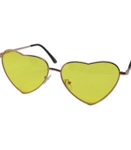Heartbreaker Yellow Lens Sunglasses