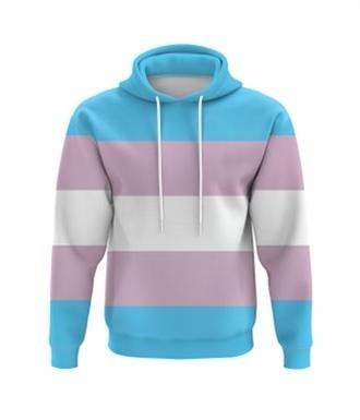 Transgender Flag Hoodie